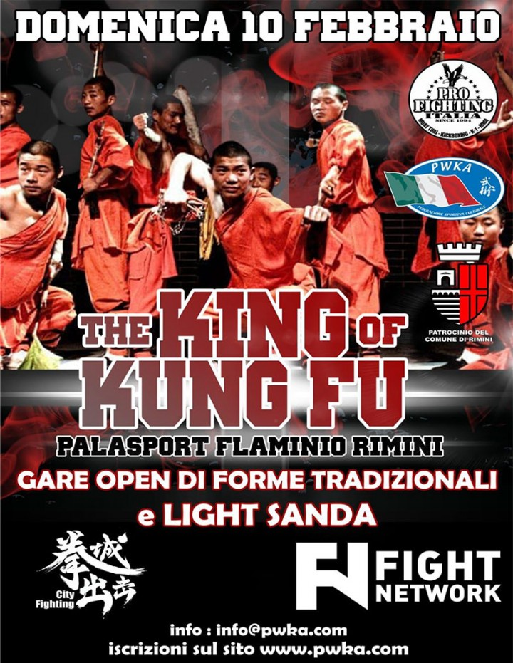 1° Torneo Open The KING of KUNG FU