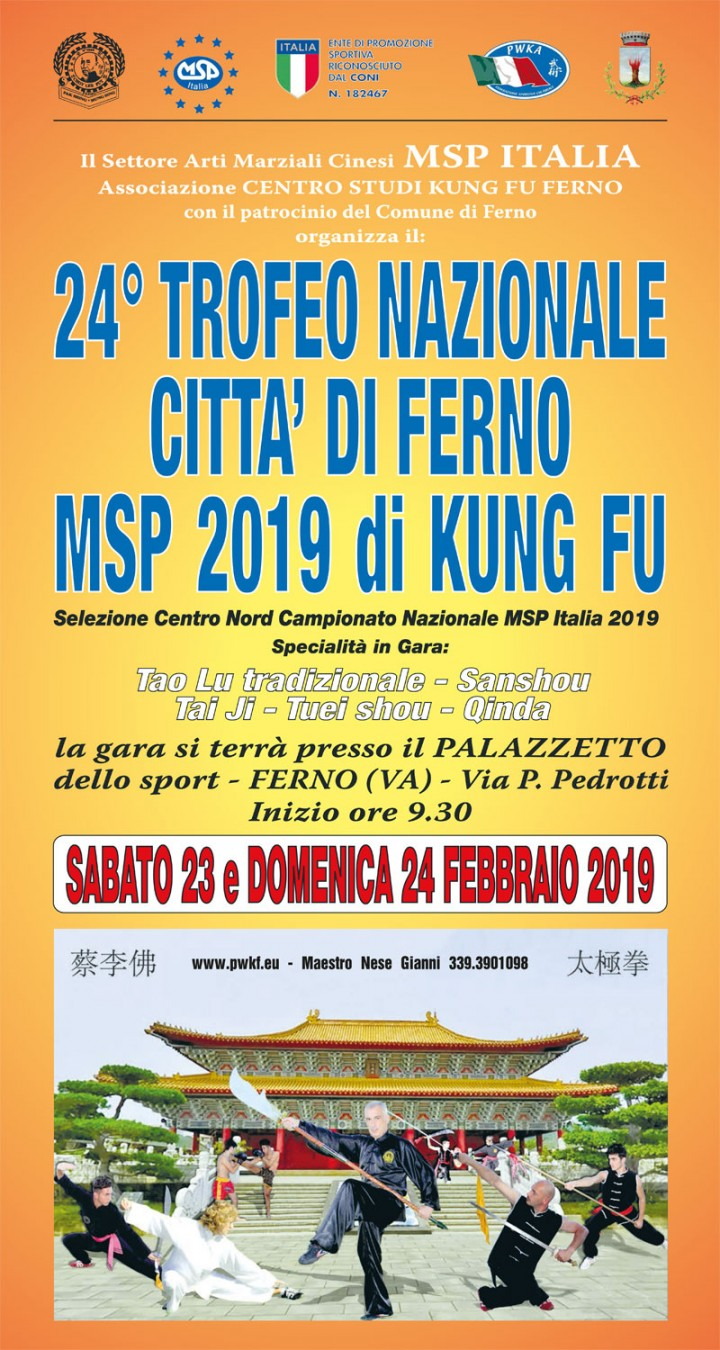 24° TROFEO NAZIONALE CITTA' DI FERNO