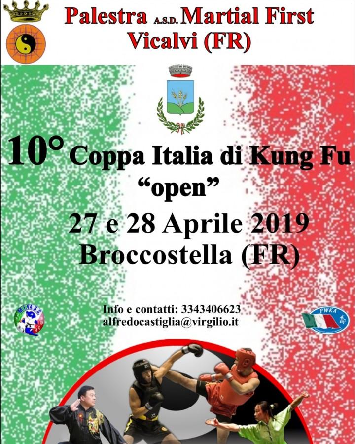 10 Coppa Italia di Kung fu Frosinone
