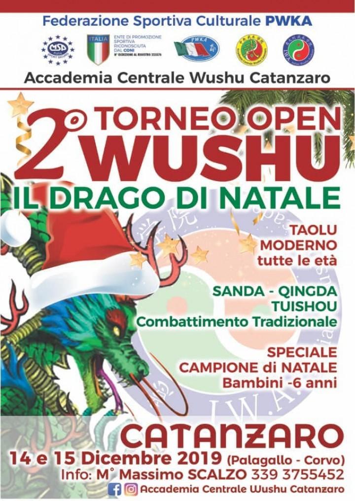 2° Torneo Wushu Open – Il DRAGO di NATALE