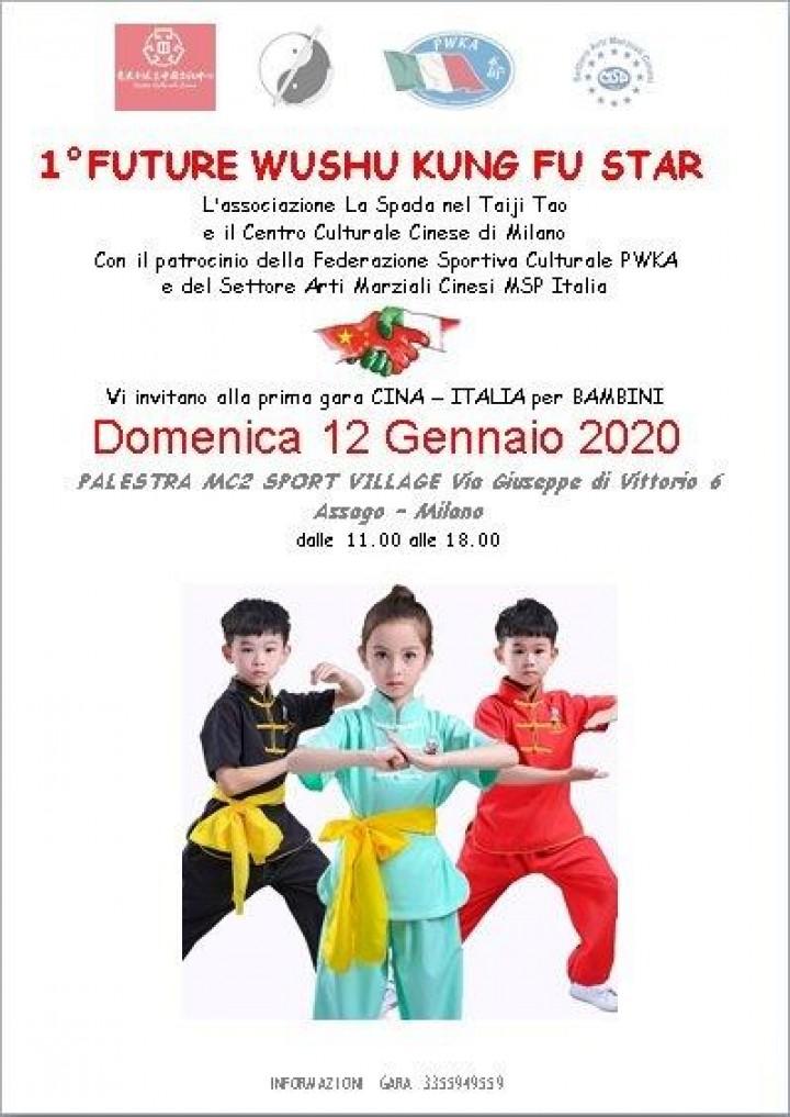 1° Future Wushu Kung Fu Star